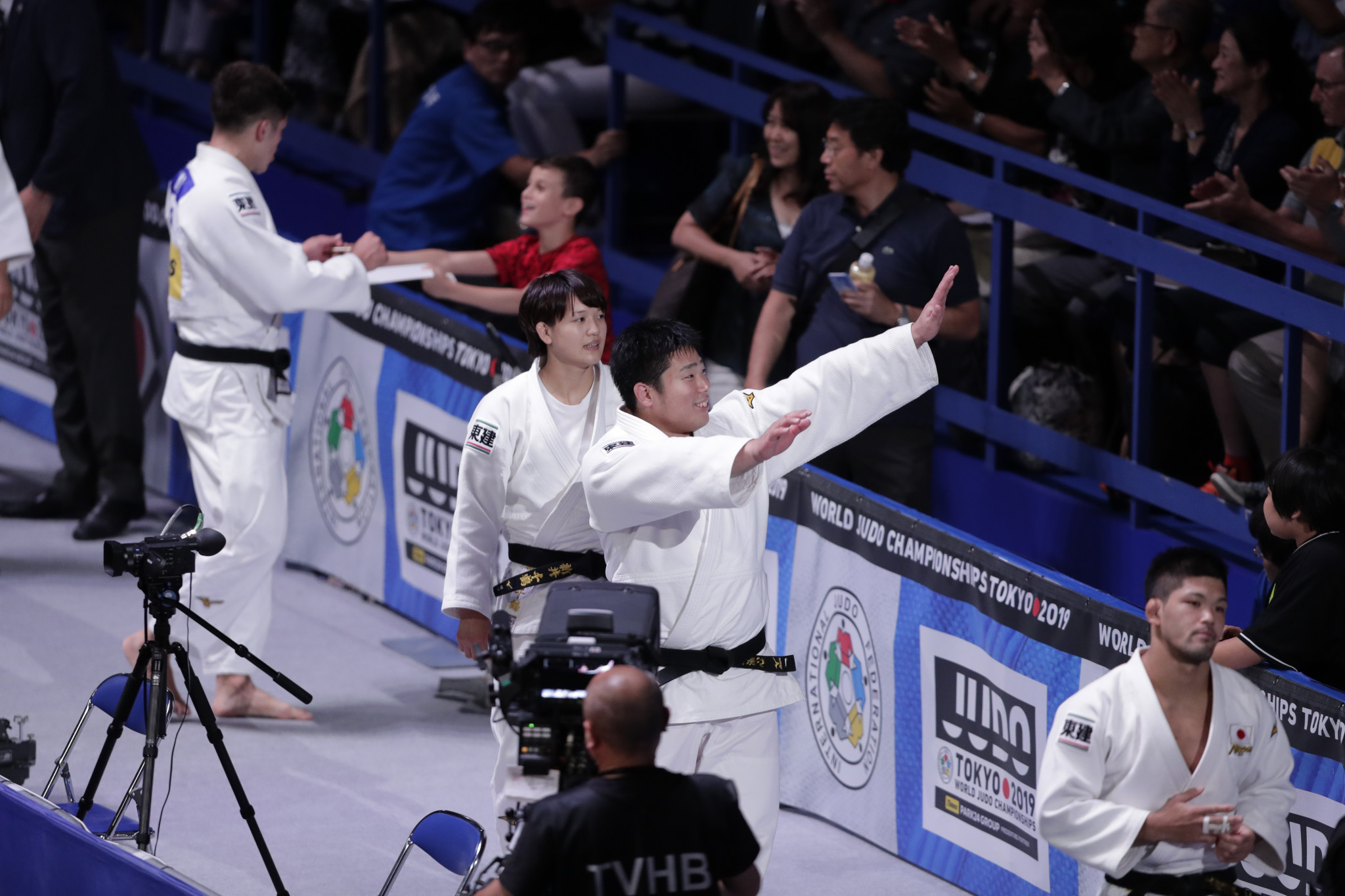 Japan's victory rounded off eight days of fierce competition at the Nippon Budokan in Tokyo ©Getty Images
