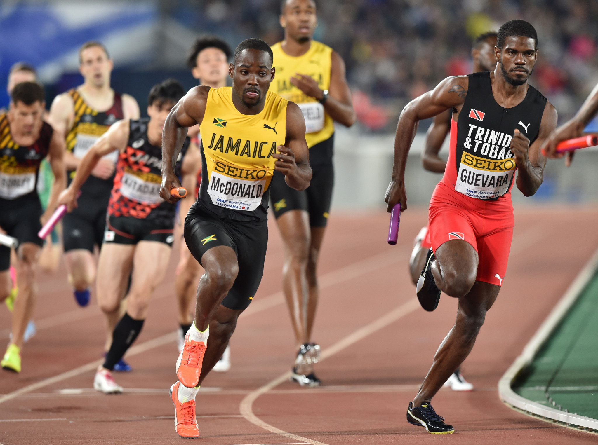 Yokohama held this year's IAAF World Relays  ©Getty Images