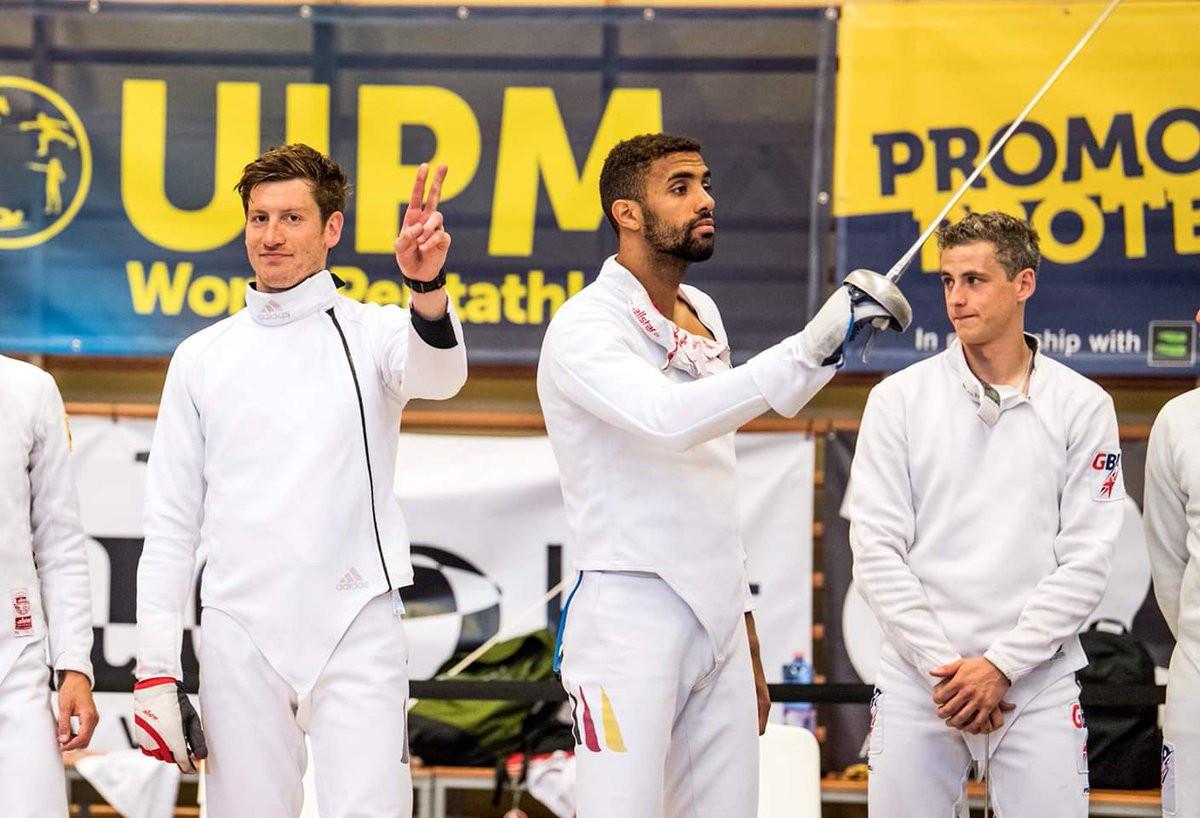 German pair take men's relay title at UIPM Pentathlon World Championships