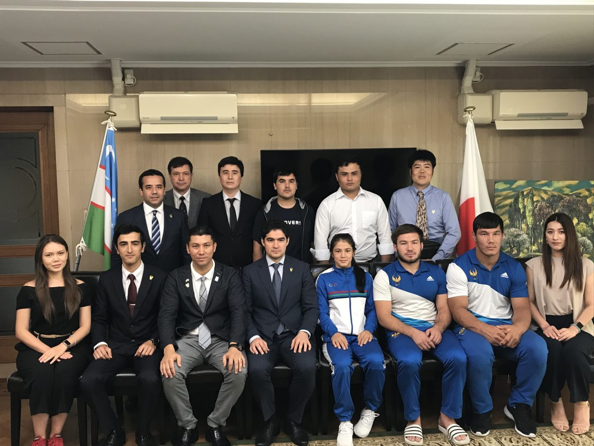 The National Olympic Committee of Uzbekistan has signed a memorandum of understanding with a youth organisation in Japan ©NOCU