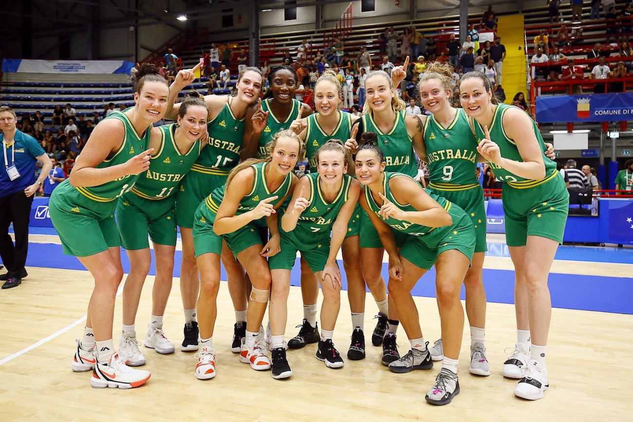 Australia won the women's title at the 2019 Summer Universiade in Naples ©Naples 2019