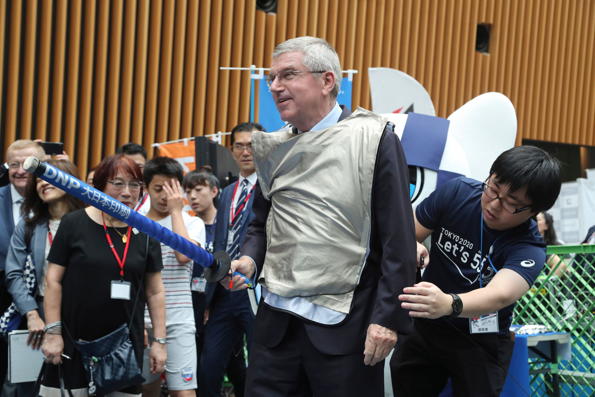 IOC President Thomas Bach is a former athlete who won Olympic fencing gold at Montreal 1976 ©Getty Images