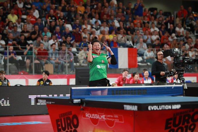Portugal progress to European Table Tennis Championships semi-finals