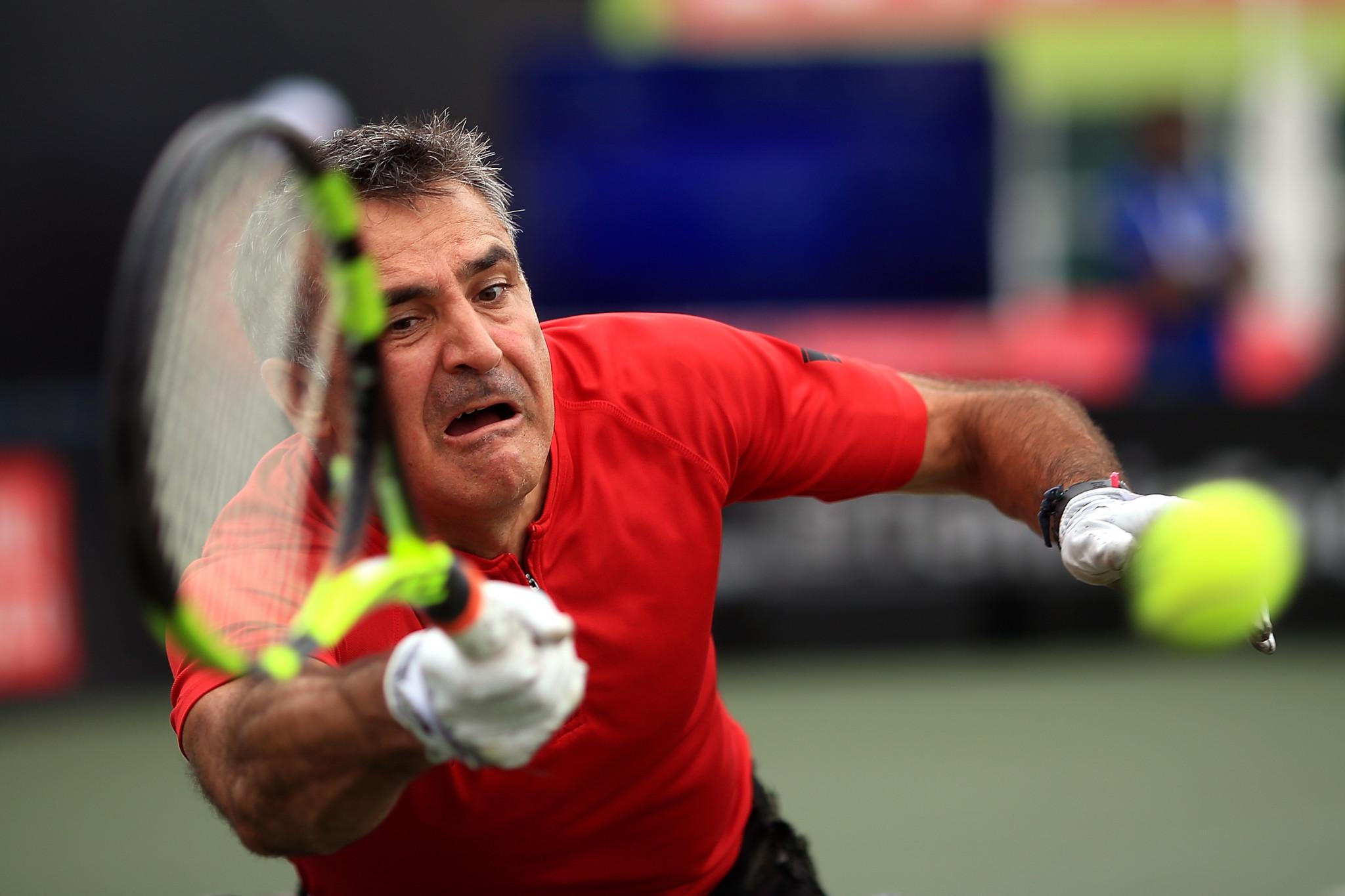 Houdet ends Fernández's grand slam ambition at US Open