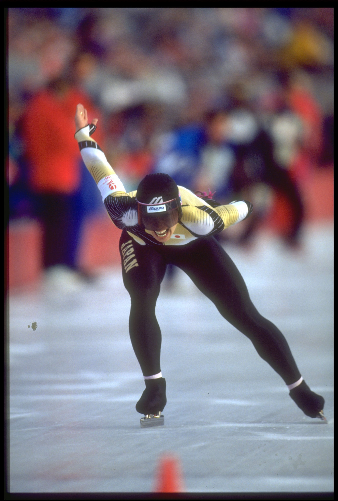 Seiko Hashimoto won Olympic bronze in Albertville in 1992 ©Getty Images