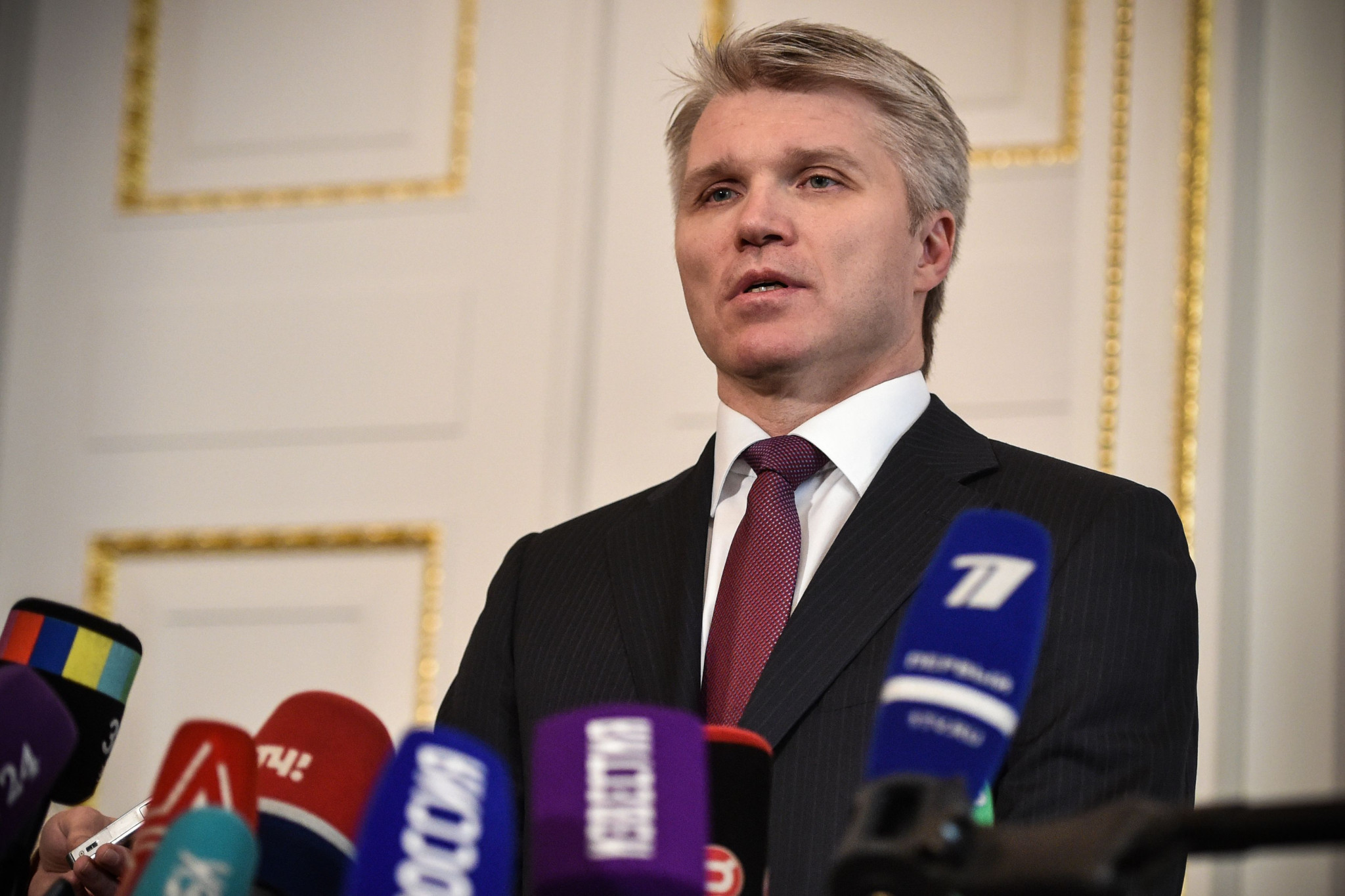 Russian Sports Minister Pavel Kolobkov believes the country is over the worst of its doping crisis ©Getty Images