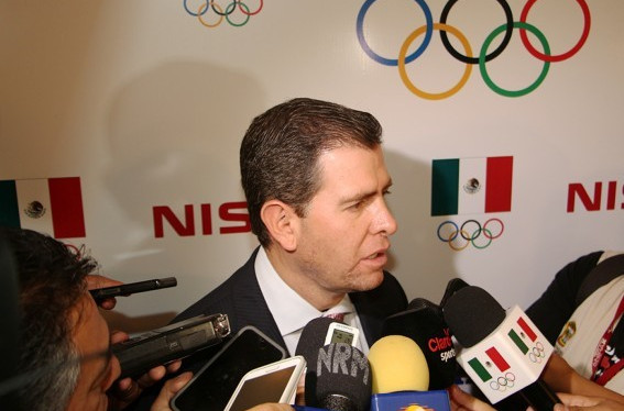 Alfredo Castillo has strongly denied claims the Government are interfering in the work of Mexican sporting bodies ©Mexican Olympic Committee
