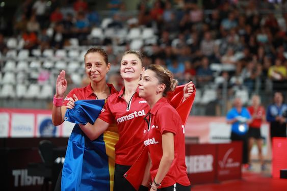 Germany and Romania defend titles at European Table Tennis Championships