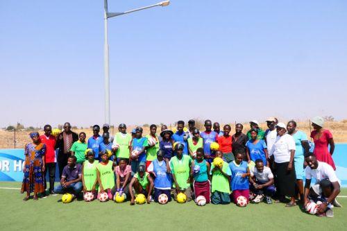A Zimbabwe blind football workshop was a major success ©IBSA