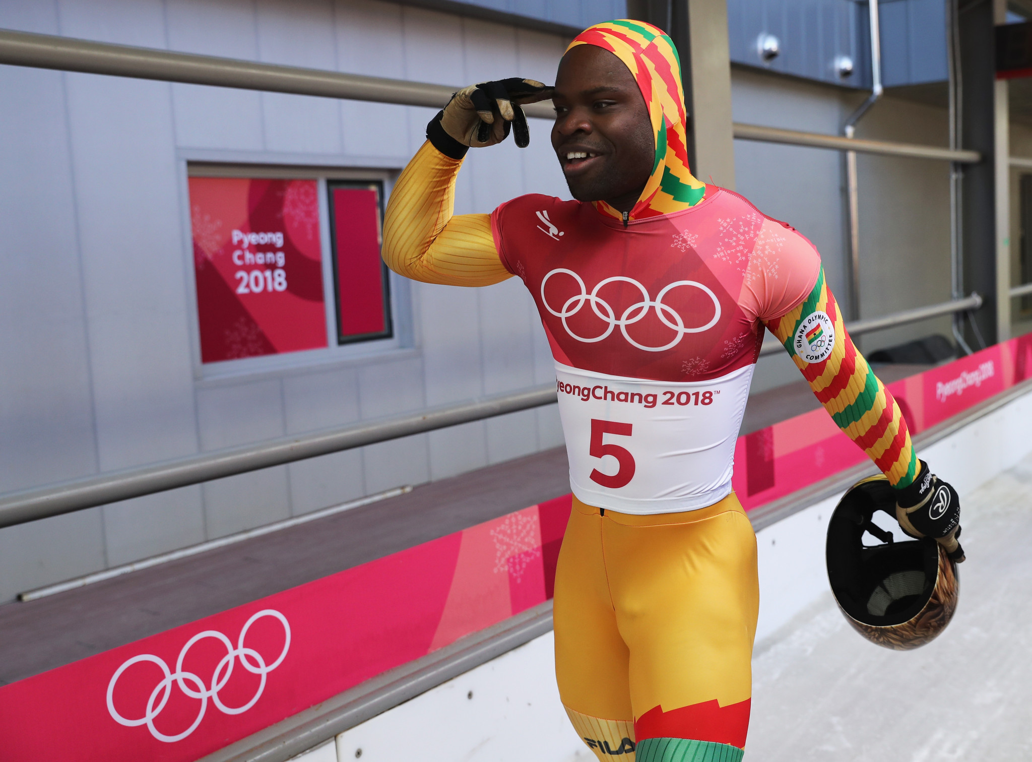 Akwasi Frimpong has received a boost in his bid to compete at Beijing 2022 ©Getty Images