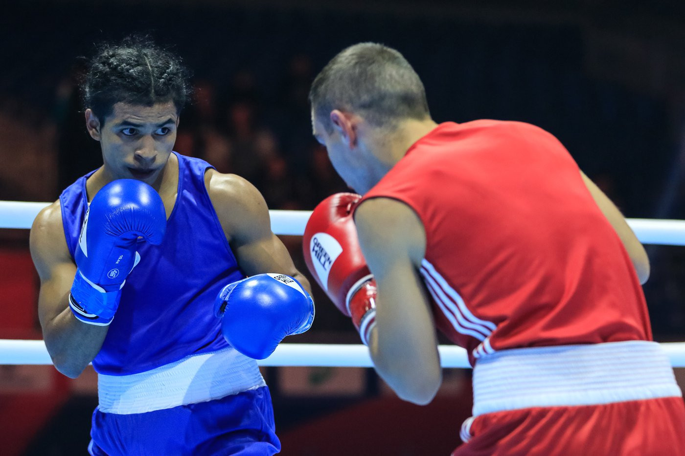 AIBA Men's World Championships continue with featherweight bouts