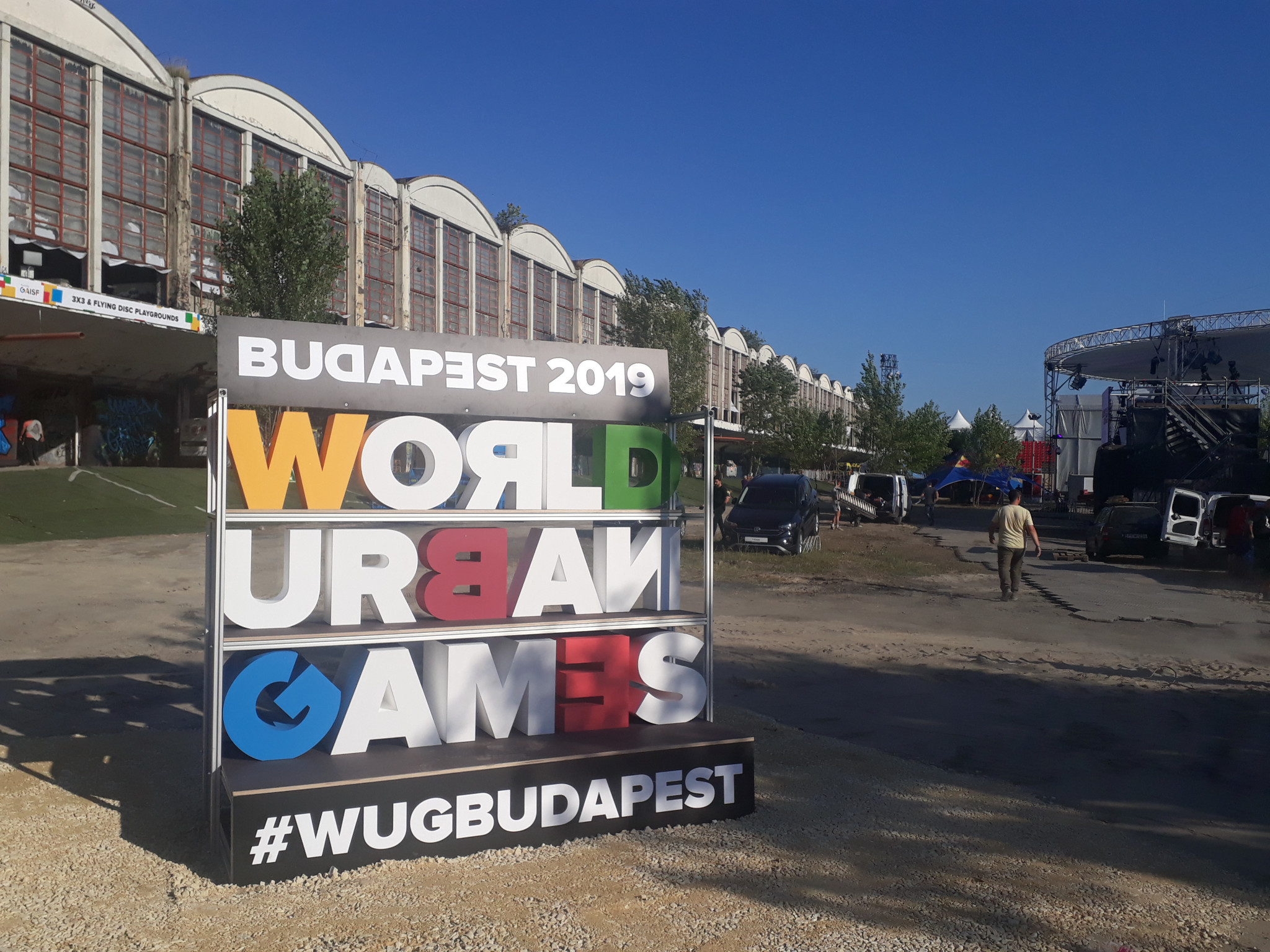 Budapest are currently hosting the first World Urban Games and plan to hold several more competitions ©Matthew Smith