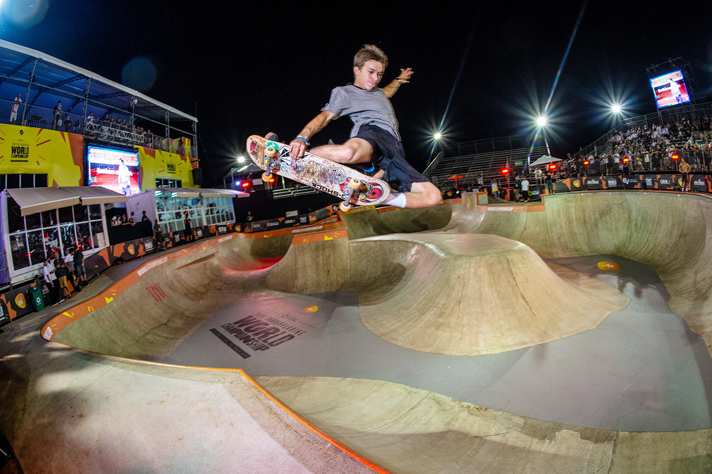 Open qualifying has  taken place at the World Skate Park World Championships in Brazil ©World Skate