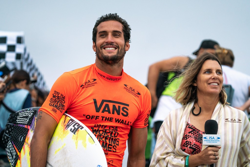 Boukhiam and Stairmand in possession of Tokyo 2020 qualifying places at ISA World Surfing Games