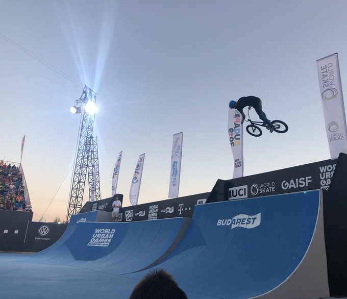 Roberts tops BMX freestyle qualifying as inaugural World Urban Games begins
