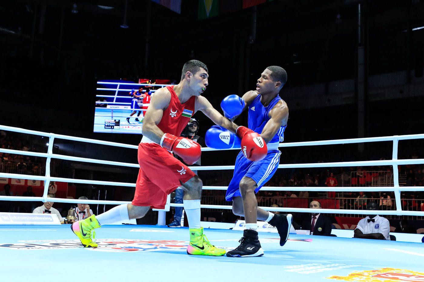 AIBA Men's World Championships 2019: Day six of competition