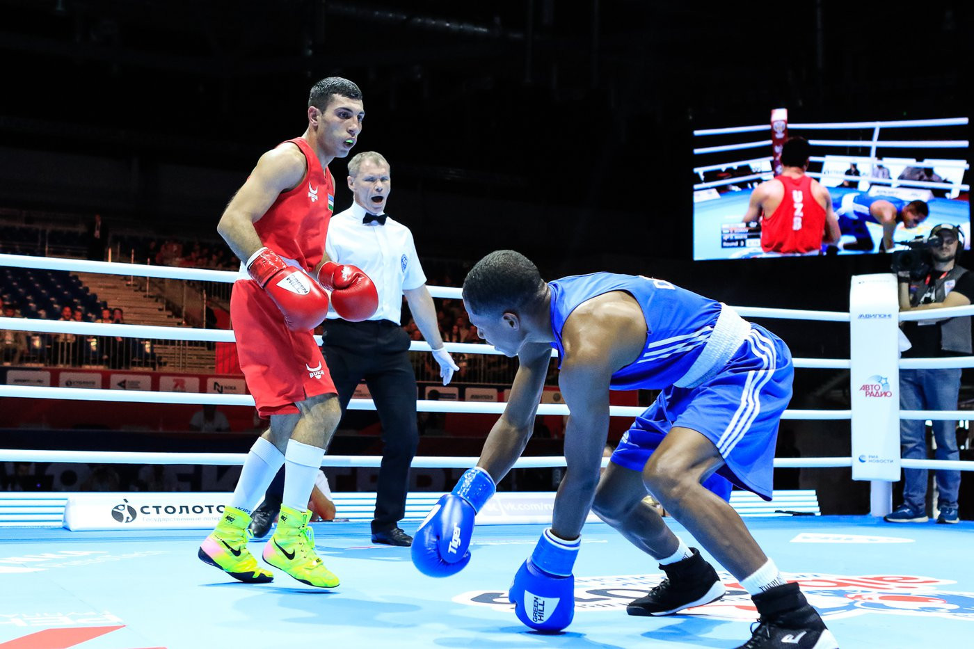 Olympic flyweight champion Zoirov knocks fourth seed out of AIBA Men's World Championships