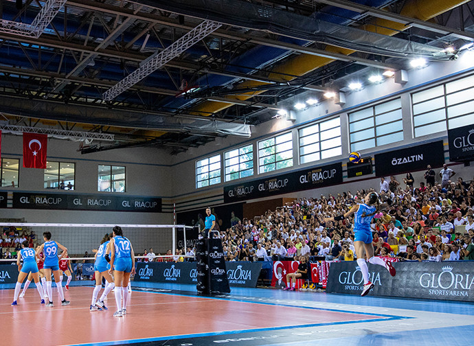 The Gloria Sports Arena will also host basketball and athletics tournaments in September ©GSA