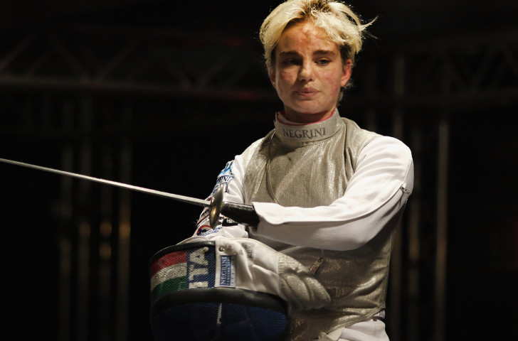 Italy's Beatrice Vio will defend individual and team titles at the IWAS Wheelchair Fencing World Championships that start in Cheongju, South Korea tomorrow ©Getty Images