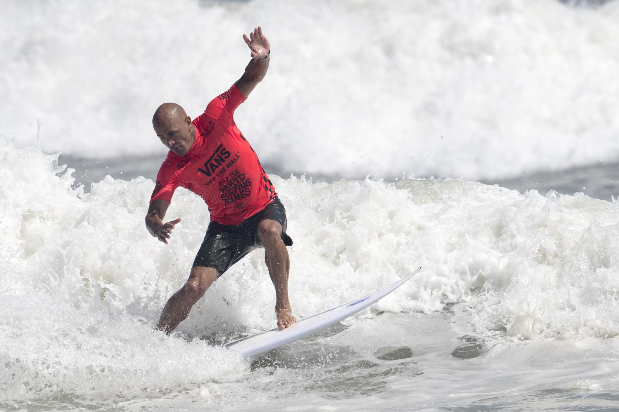 Kelly Slater had previously expressed doubts over whether surfing fit the bill as an Olympic sport ©Getty Images