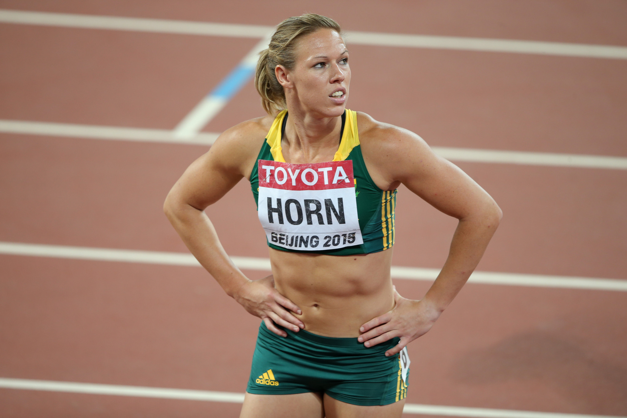 Carina Horn will miss the World Championships in Doha ©Getty Images