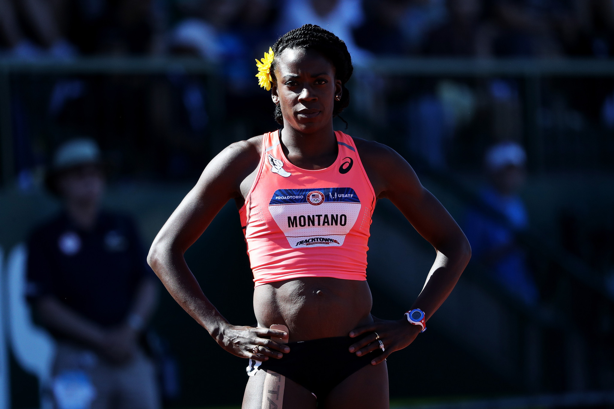Alysia Montano will receive her World Championship bronze medals this month ©Getty Images