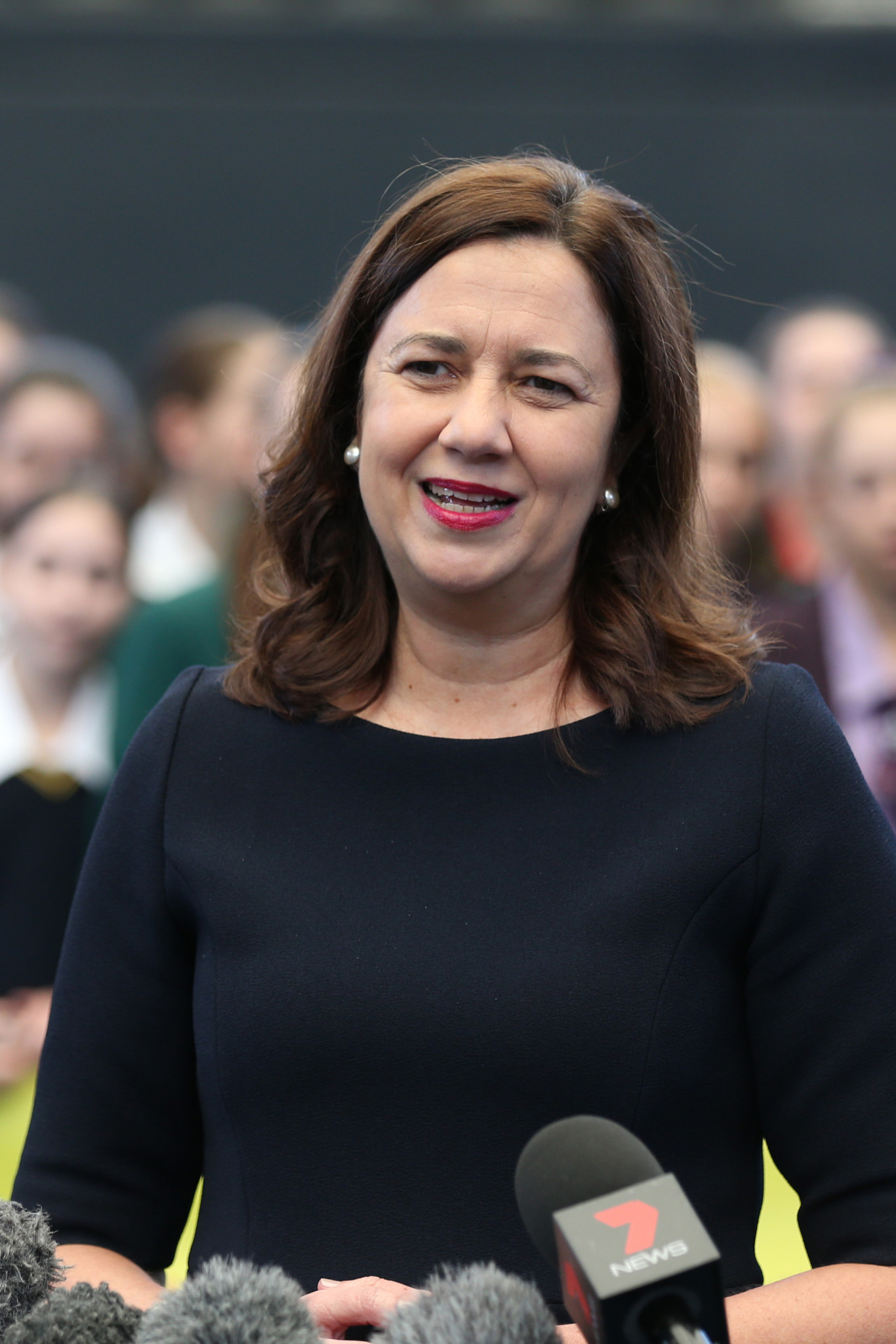Queensland Premier Annastacia Palaszczuk expects a decision on a bid within months ©Getty Images