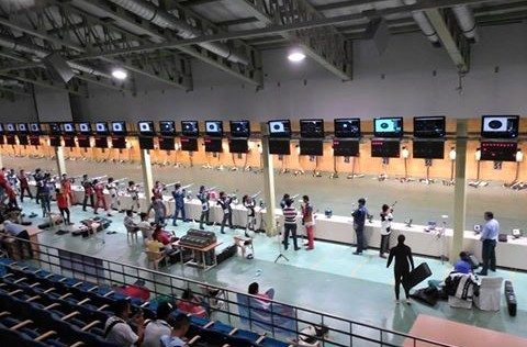 The Dr Karni Singh shooting ranges in Tughlakabad are expected to play host to the Asian Olympic qualifier early next year ©Facebook