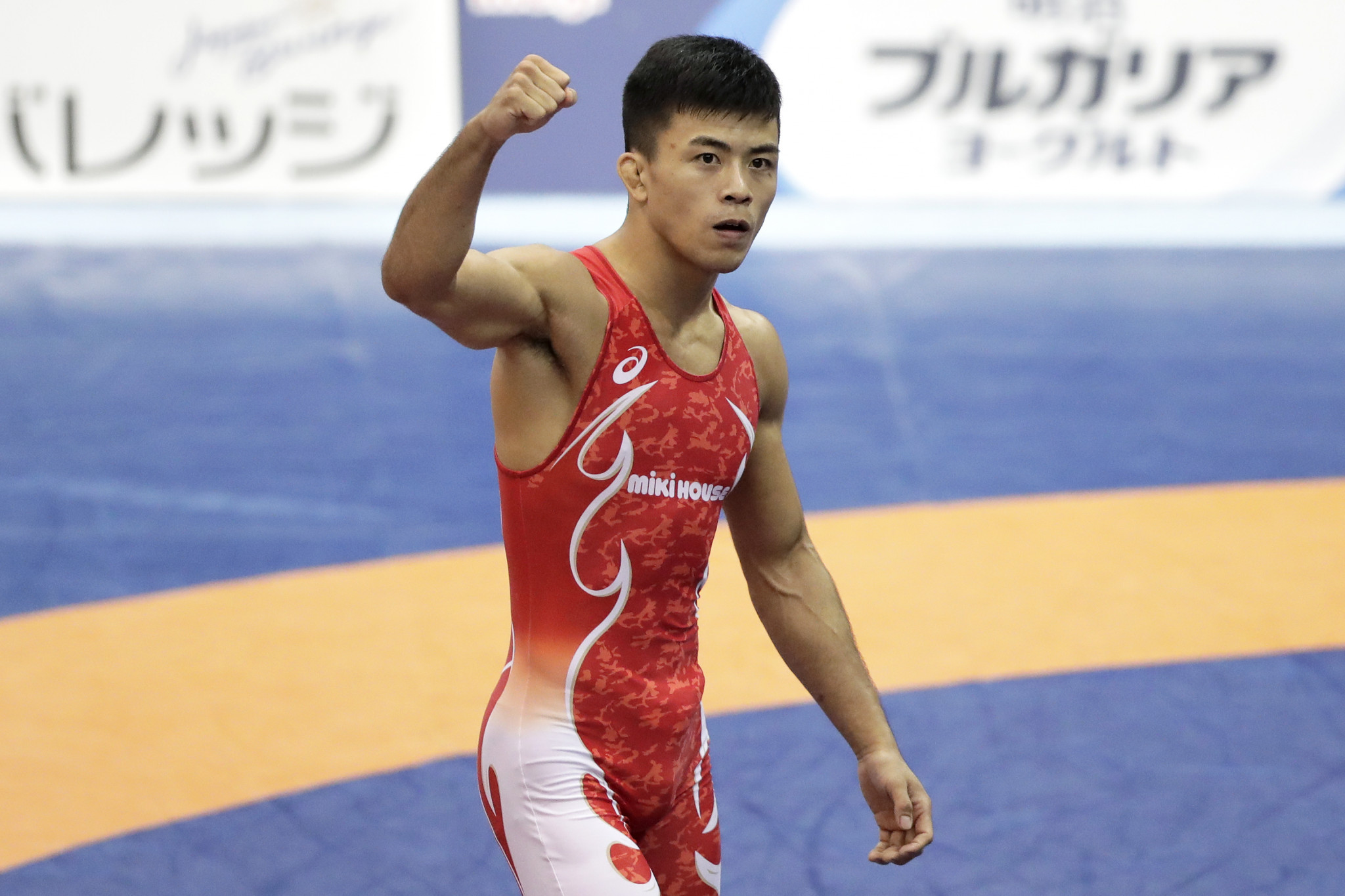 Fumita raises home hopes for Tokyo 2020 as he regains title at World Wrestling Championships