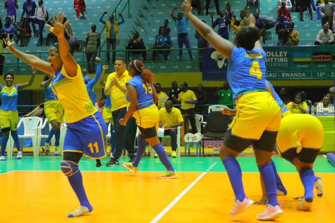 Rwandan women's sitting volleyball team qualify for Tokyo 2020
