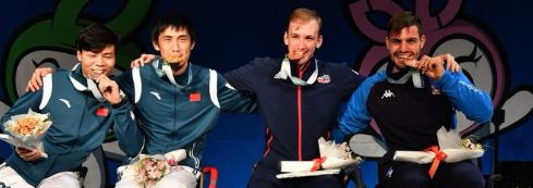 Britain's Coutya retains epee B title at Wheelchair Fencing World Championships