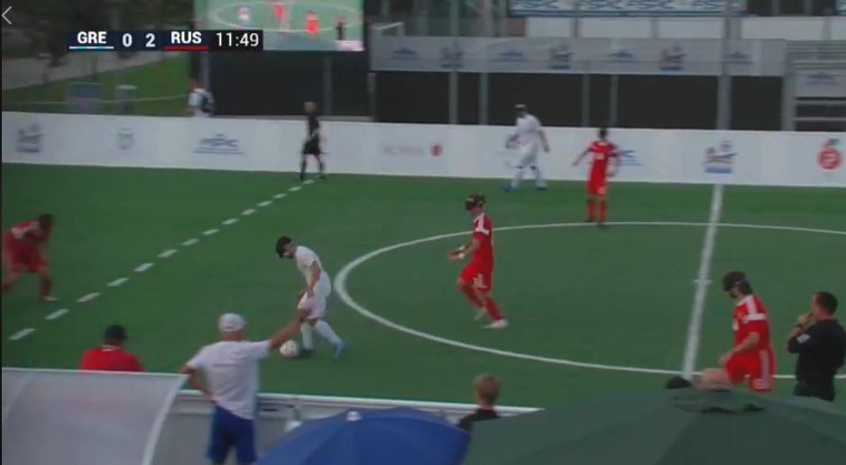 Russia regain momentum at IBSA Blind Football European Championships