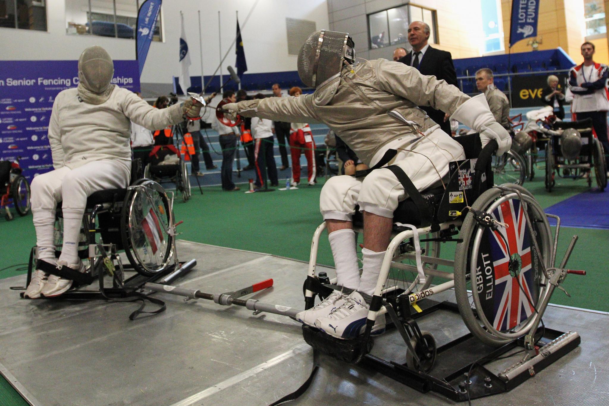 Russia's Kurzin halts Chinese gold run at Wheelchair Fencing World Championships