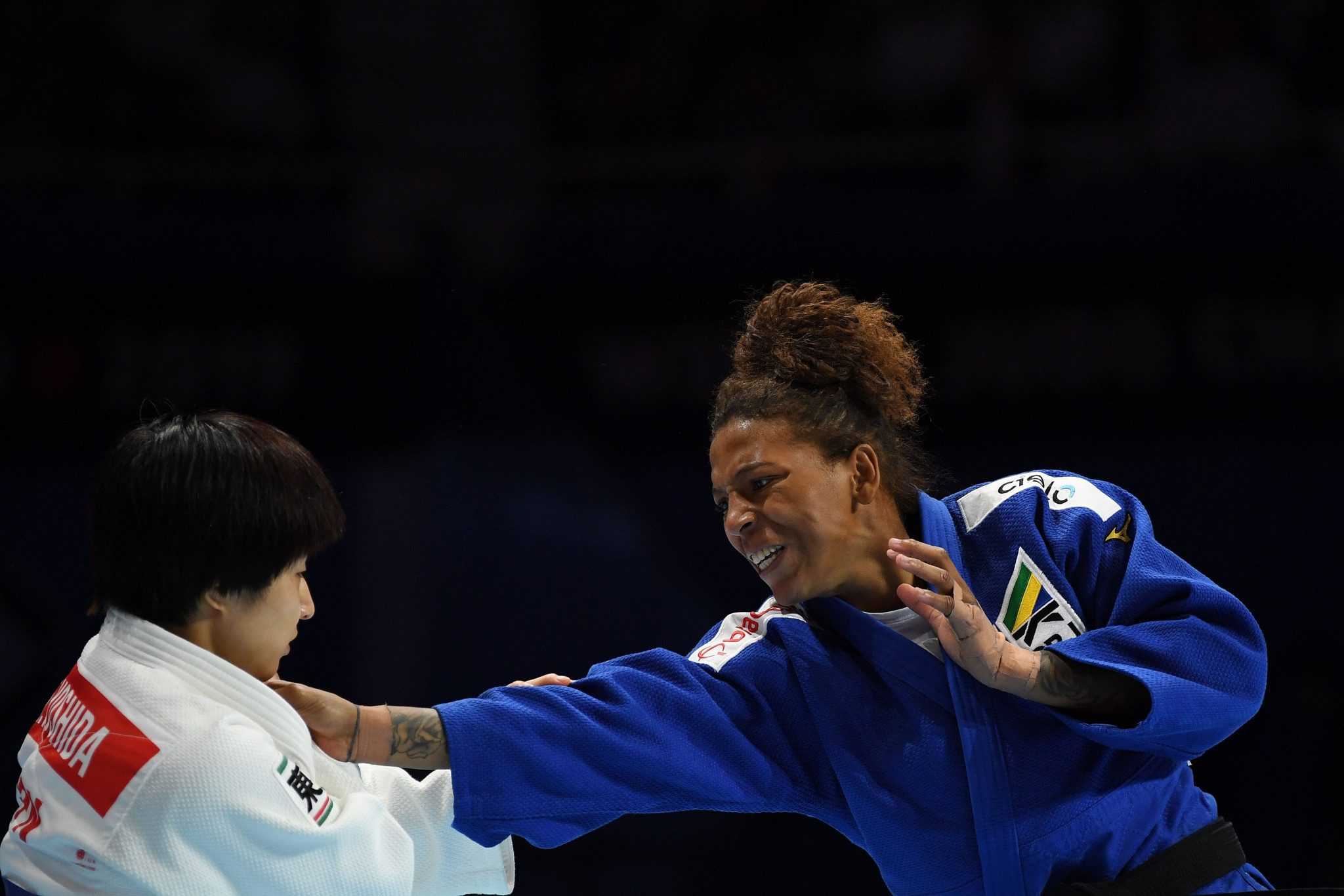 The Brazilian Olympic champion has insisted she did not intentionally take the banned substance ©Getty Images
