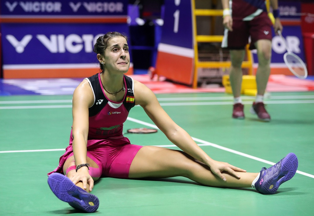 Marin completes emotional comeback victory at BWF China Open