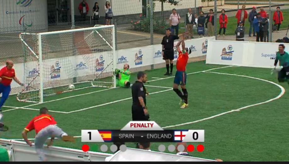 Spain and France book Tokyo 2020 place at Blind Football European Championships
