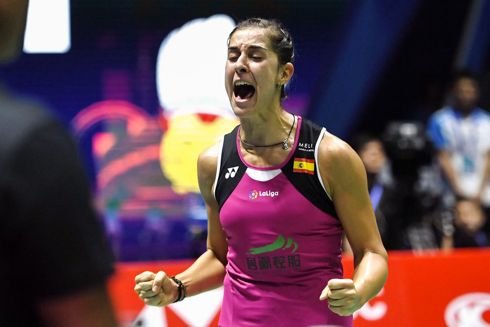 Marin looks to continue remarkable comeback story at BWF Korea Open