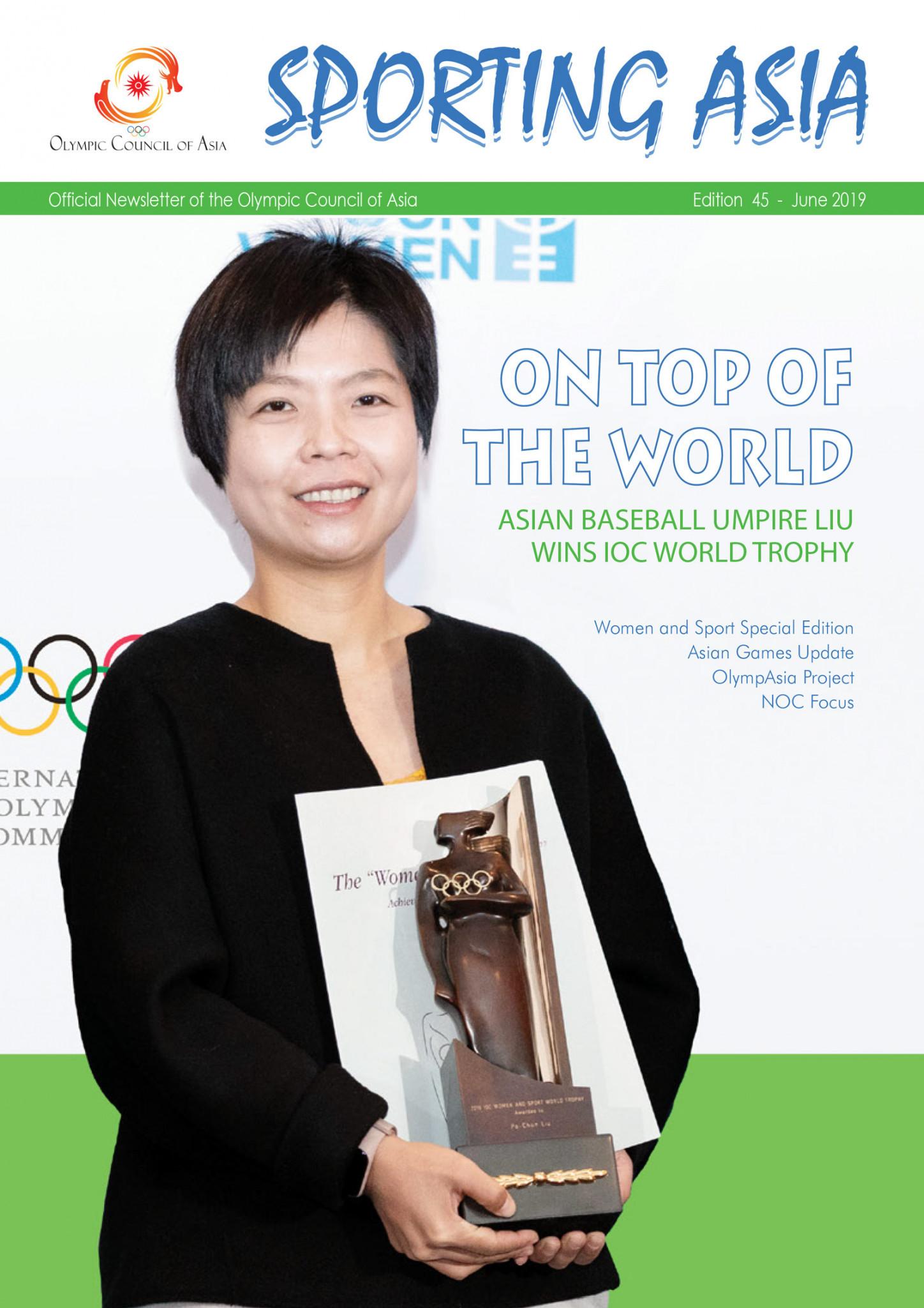 Sporting Asia - Edition 45 - JUN 2019