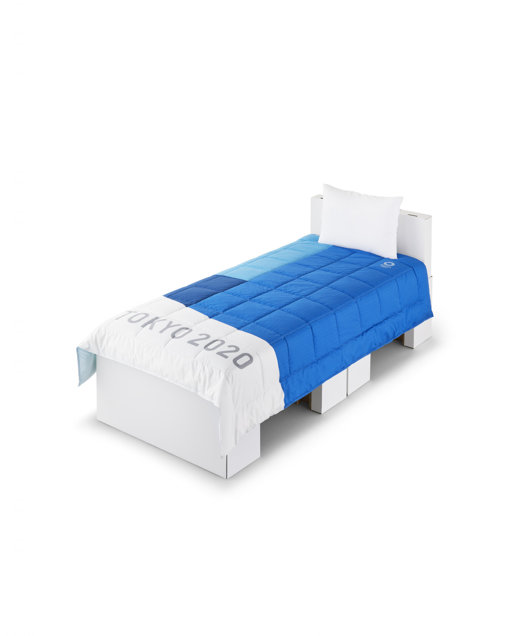 Tokyo 2020 unveil lightweight beds for athletes and mattresses