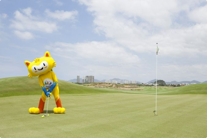 The golf course for the Rio 2016 Olympic Games has been unveiled ©Rio 2016