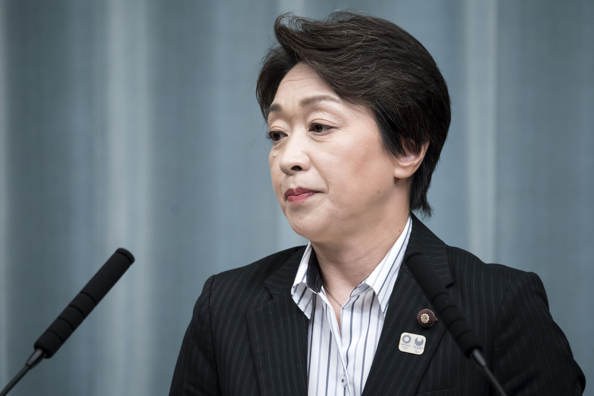 Japan's Olympics Minister Seiko Hashimoto is adamant the Tokyo 2020 Games will go ahead in some form ©Getty Images