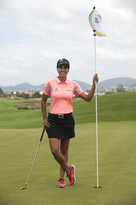 Victoria Lovelady hopes to represent Brazil at Rio 216