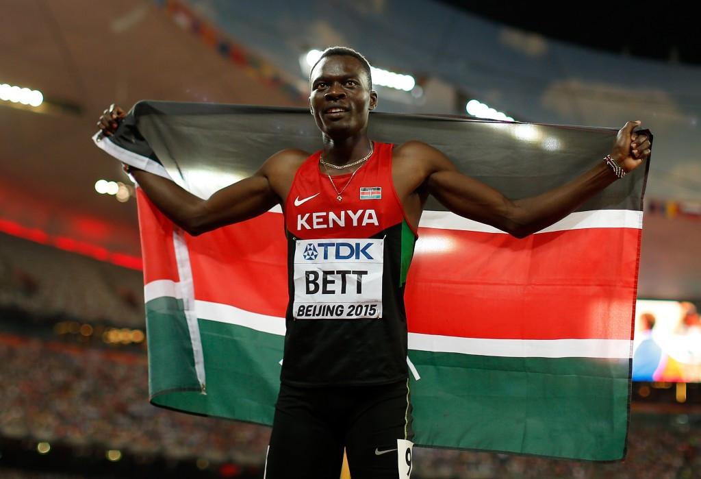 400 metres hurdles world champion Nicholas Bett is one of the athletes to call for the resignation of Athletics Kenya chairman Isaiah Kiplagat