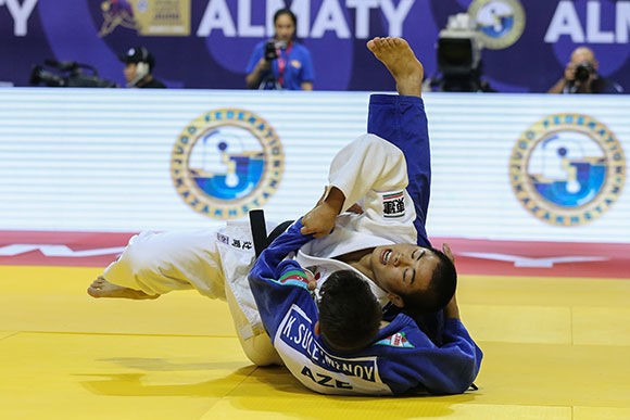 Double gold for Japan on World Cadet Judo Championships day two