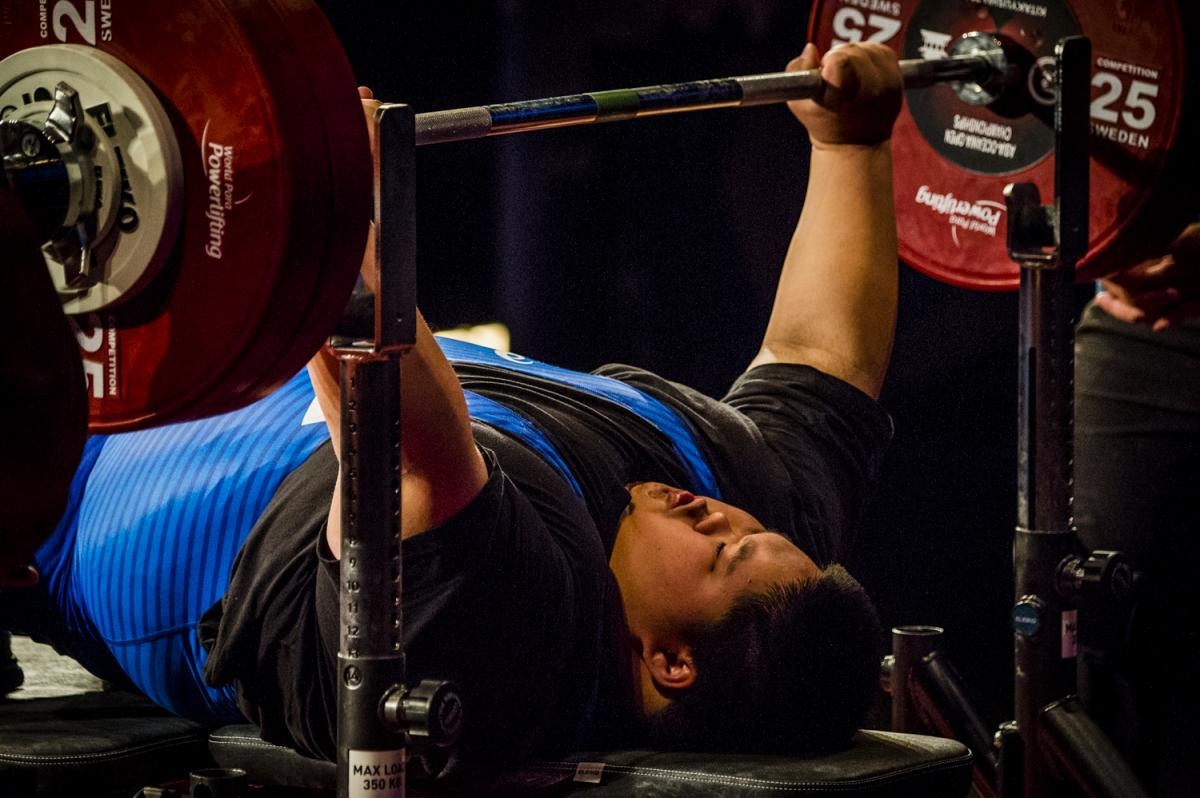South Korea win three gold medals on final day of Para Powerlifting World Cup in Tokyo