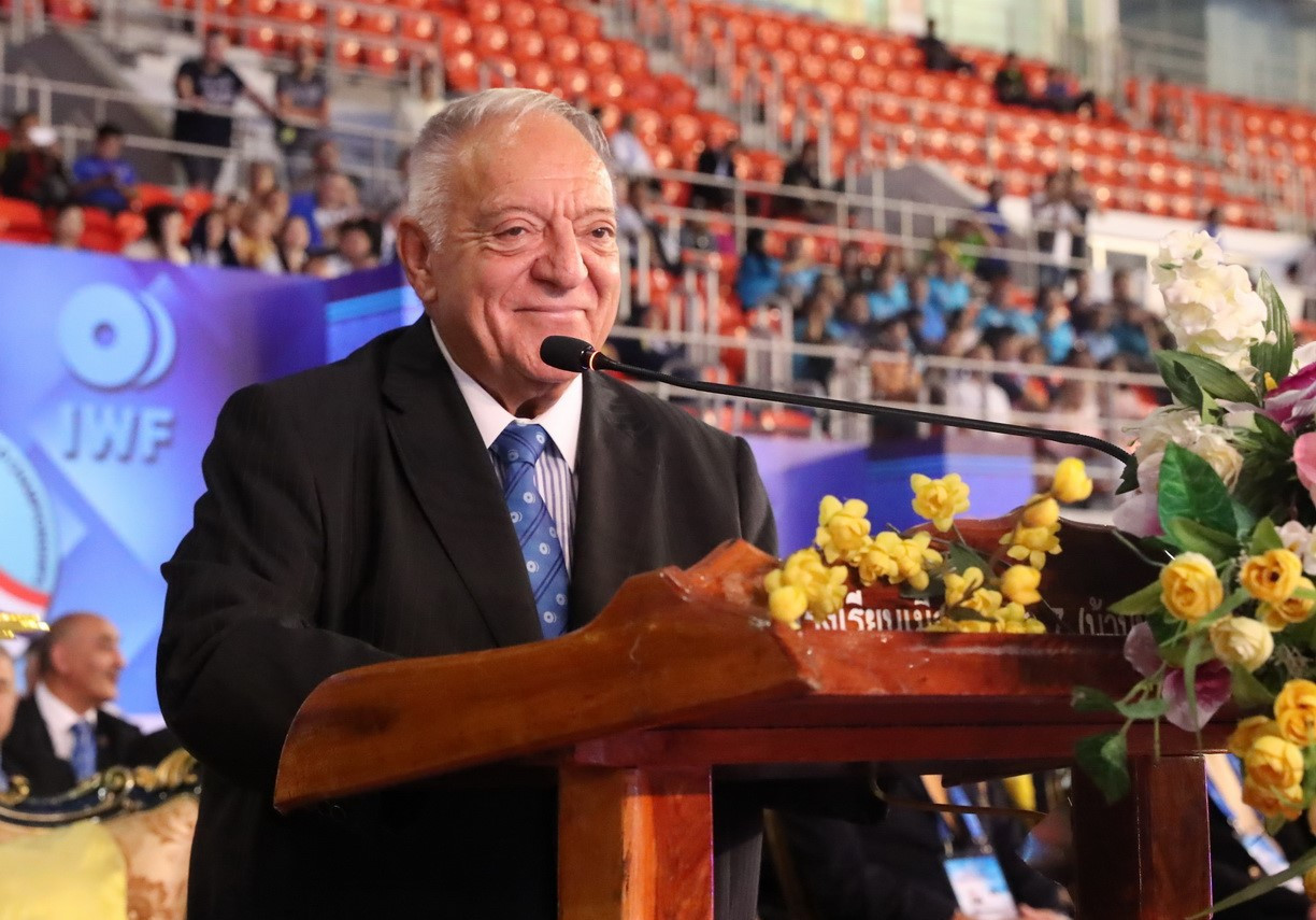 Tamás Aján took more than $600,000 in cash to IWF Congresses, spending it on bribes to buy votes ©Getty Images