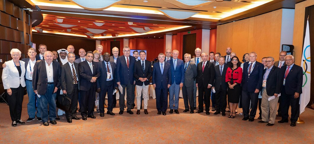 The IOC Executive Board and IAAF Council held a joint meeting before the start of the World Championships ©IOC