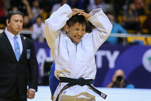 Japan top medal table but miss out on gold on day four of World Cadet Judo Championships