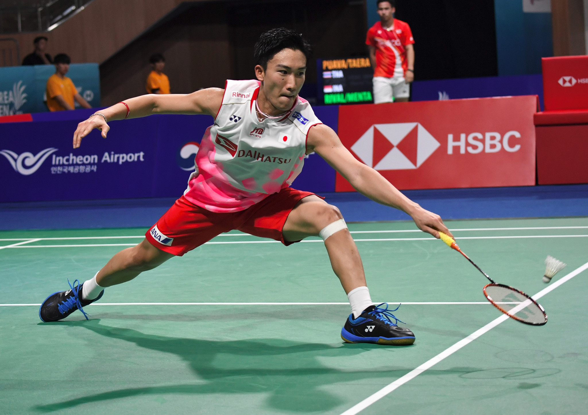 Japan's Kento Momota has been the class act at the BWF Korea Open ©Getty Images