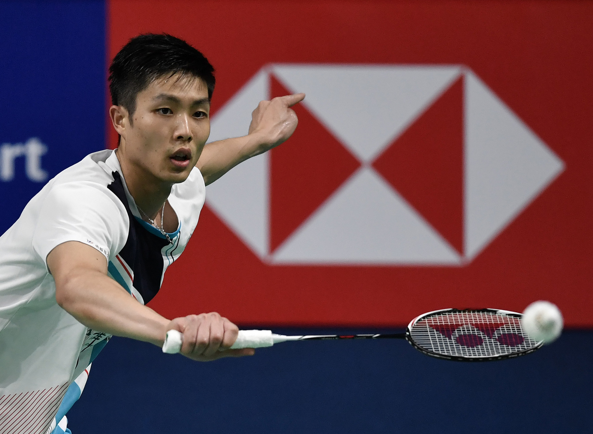 Chinese Taipei's Chou Tien-chen had to work hard to make the final ©Getty Images